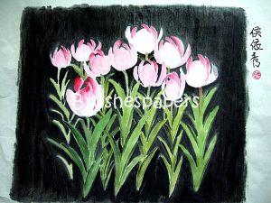 practice 723 - tulips